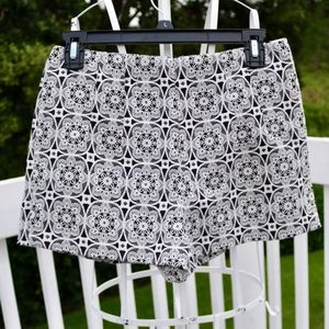 Forever 21 Patterned, High Waisted Shorts NWOT